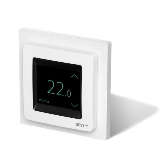 Терморегулятор DEVIreg Touch с комбинацией датчиков, белый